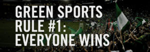 Green sports rule #1 - Everyone wins